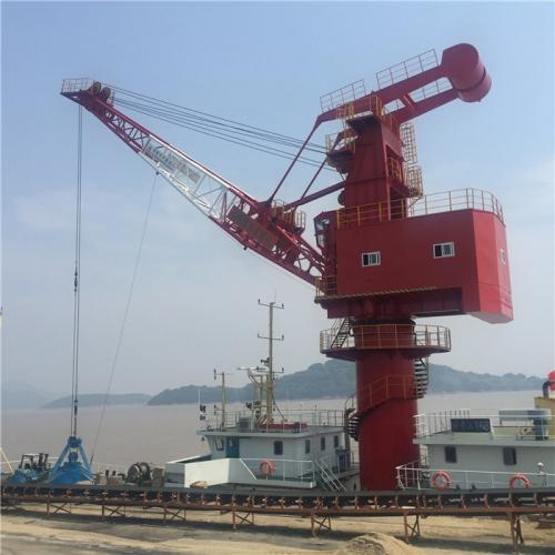 大型浮吊的结构以及起锚工作