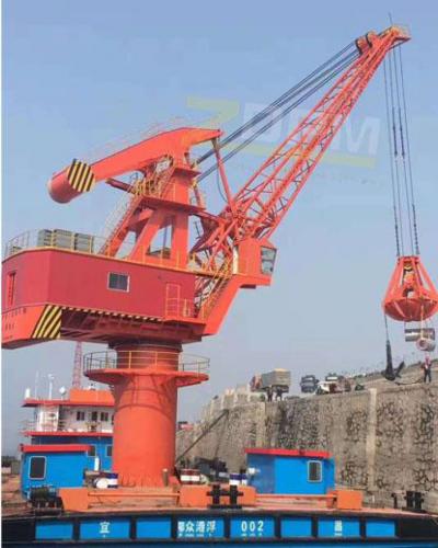 码头吊表面的养护工作以及立足点的稳定